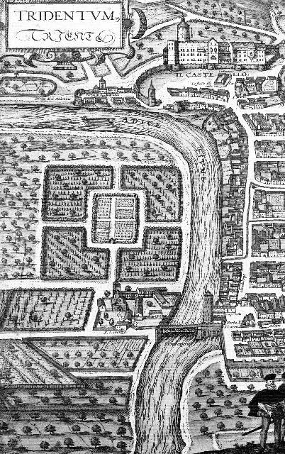 Pianta antica della città