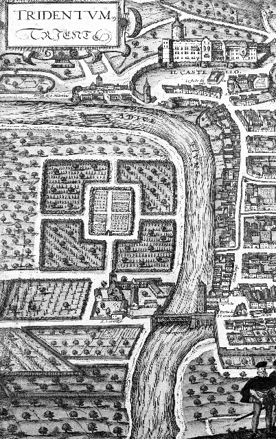Antica pianta di Trento