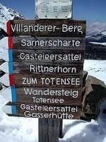 cartelli dell\'alpenverein