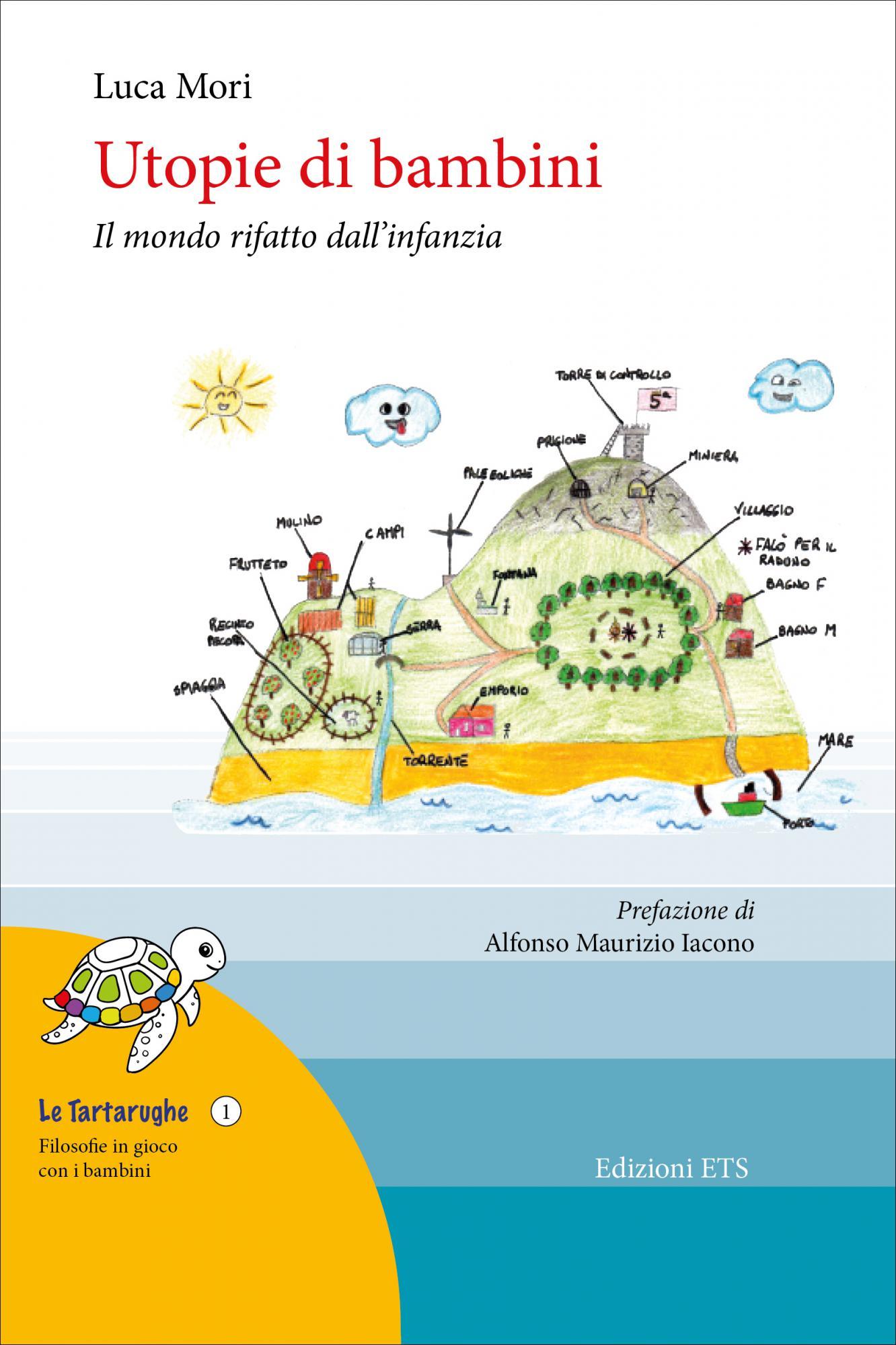 La copertina del libro di Luca Mori