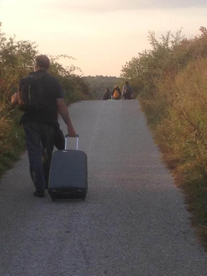Francesco Maria Feltri, verso Osmace (Srebrenica)