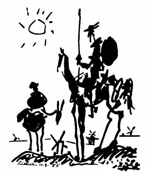Pablo Picasso, Don Chisciotte